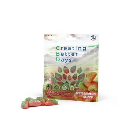 CBD Gummy Watermelon Slices - 150mg