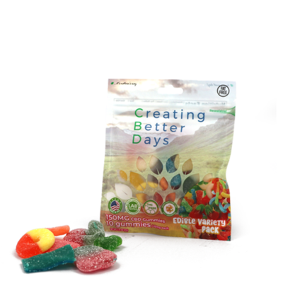 CBD Sour Gummy Variety Pack - 150mg