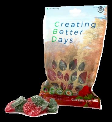 CBD Gummy Cherry Bomb - 300mg