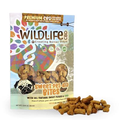 CBD Sweet Pet- ato Bites Organic Treats