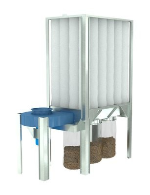 S-1000 10HP Dust Collector - Nederman