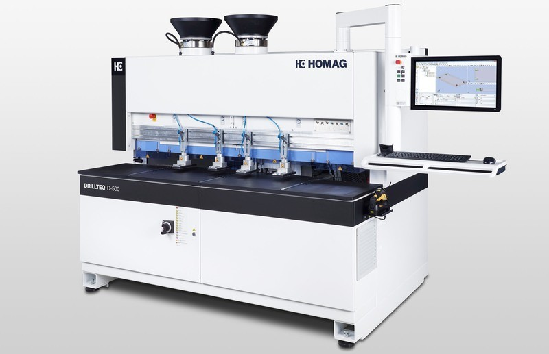 HOMAG Drill and Dowel Machines
