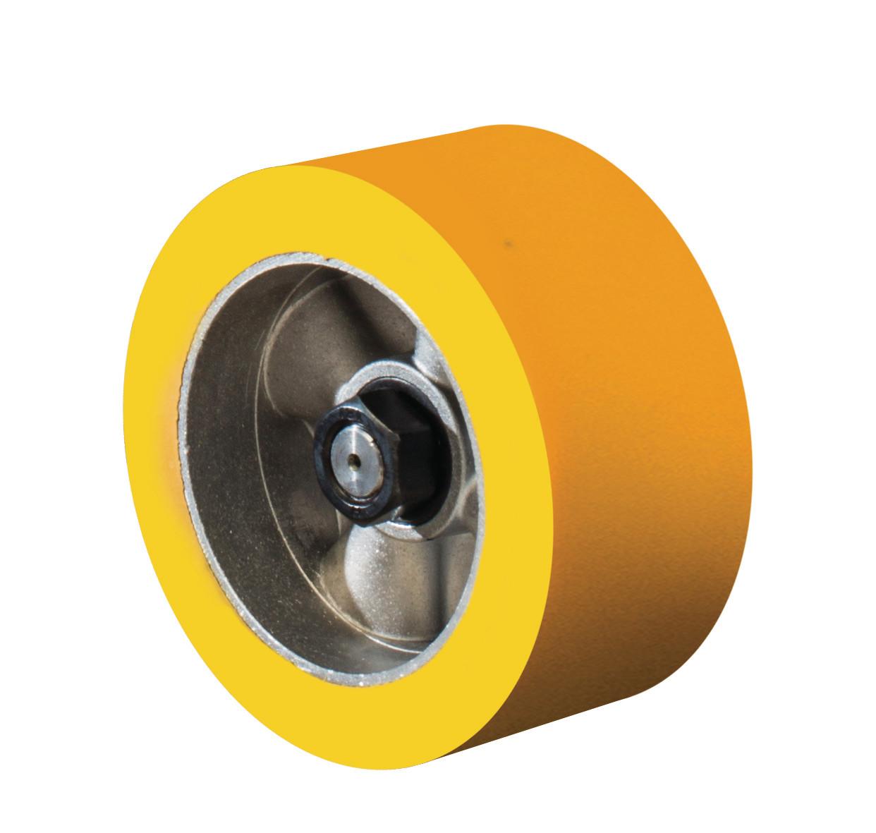 """50 Duro. DC Feeder Wheels - Polyurethane - φ4-3/4"""""""