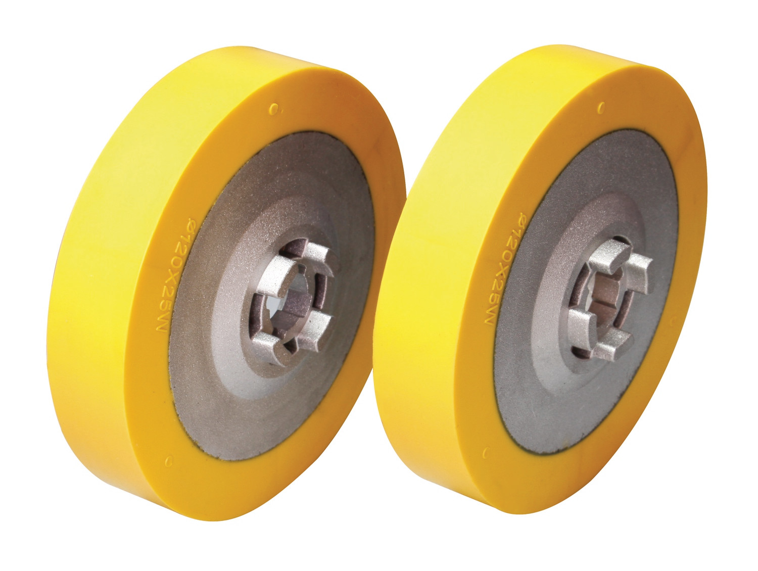 "DC Feeder Wheel Set - Ø4-3/4"" x 1"""