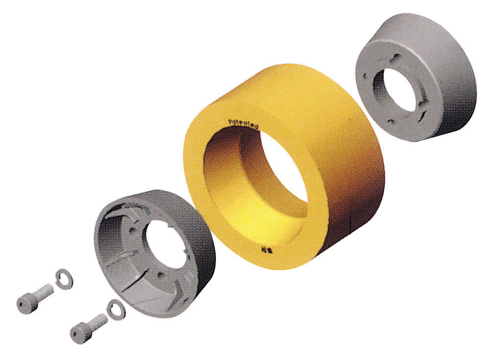 Hub & Poly. Tire System - 60x120mm