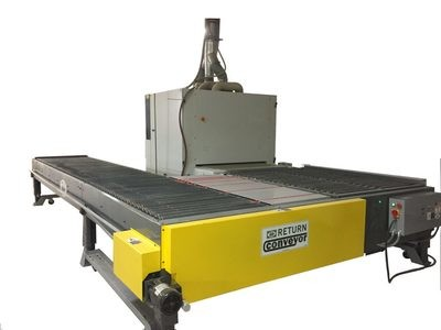 Widebelt Sander Return Conveyors - Taylor