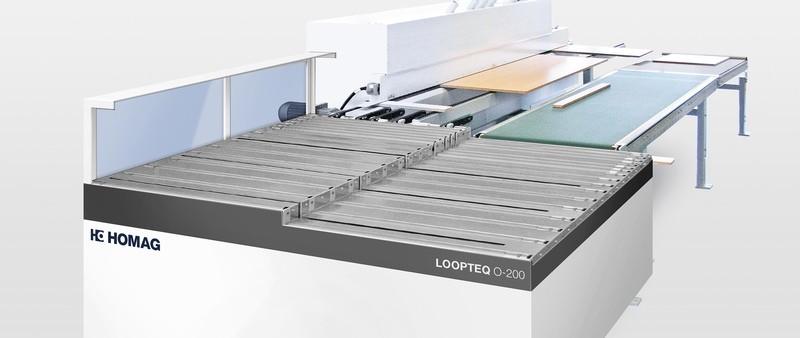 Edgebander Return Conveyors - HOMAG LOOPTEQ