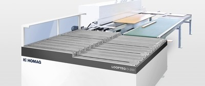 Edgebander Return Conveyors - HOMAG LOOPTEQ