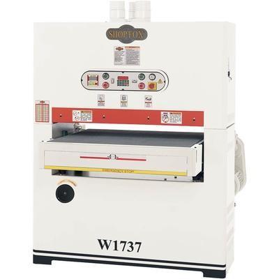 W1737 1 Phase Single Head Widebelt Sander - 37