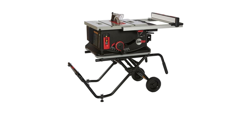 """Jobsite 1.5HP SawStop - 10"""" Tablesaw 1PH 120V"""