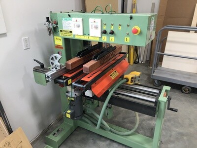 Used Double Line Boring Machine