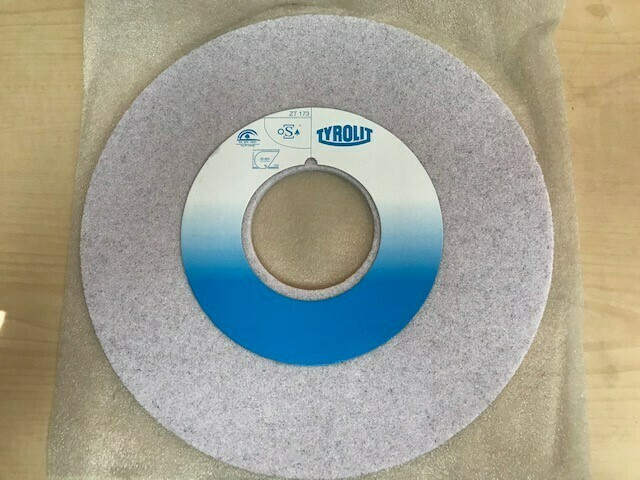 54 Grit Gray Aluminum Oxide Grinding Wheel (Weinig)