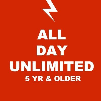 1 UNLIMITED PLAY pass / 5 YR & OLDER