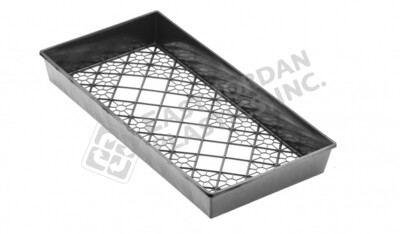 HD Mesh Bottom Tray 100ct. - Standard Depth - 10x20x2.25""