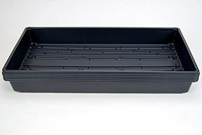HD Germination Tray 100ct. - Standard Depth - WITH HOLES - 10x20x2.25""