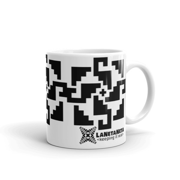 Temple Steps mug design by LaNetaNeta