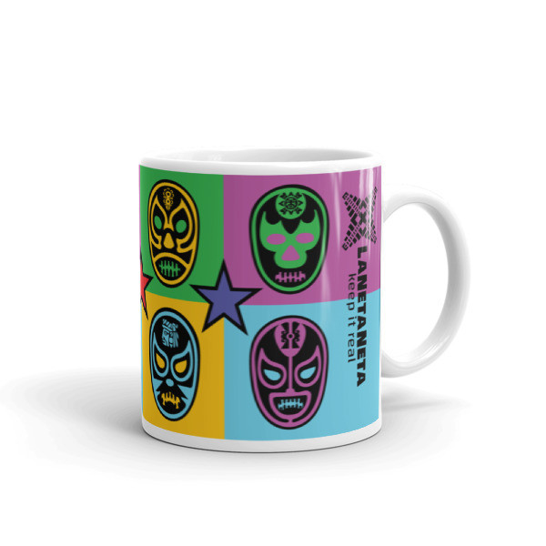Lucha Libre Mug by LaNetaNeta