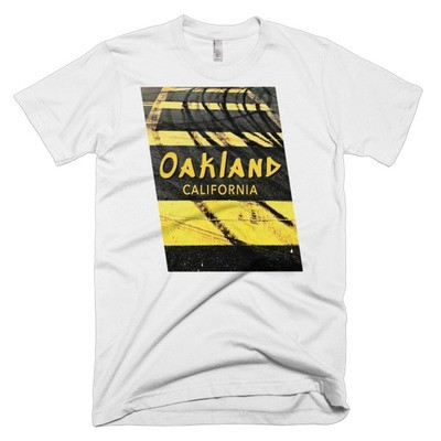 Oakland Doughnuts, Men's American Apparel T-Shirt