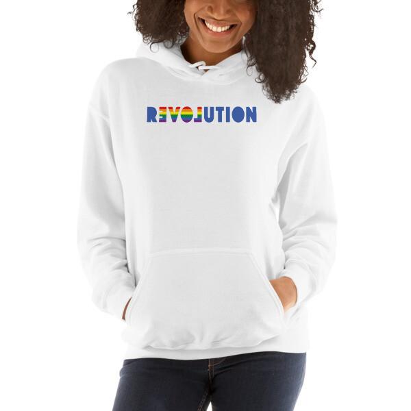 REVOLUTION=LOVE, Heavy blend hoodie