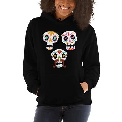 3 Calacas Women's Hoodie