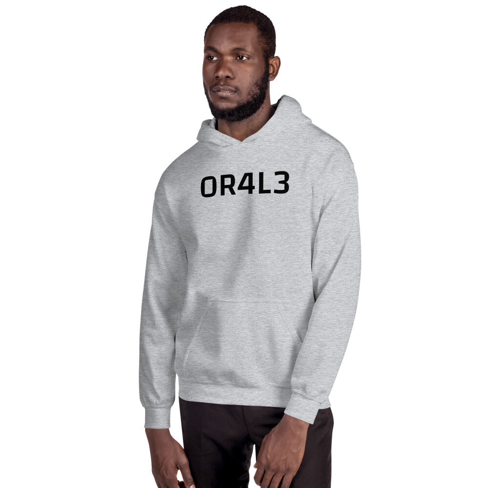 OR4L3, Heavy cotton hoodie