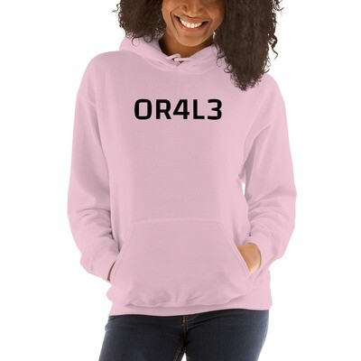 OR4L3, Women's heavy cotton hoodie