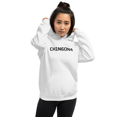 CH1N6ON4, heavy cotton hoodie