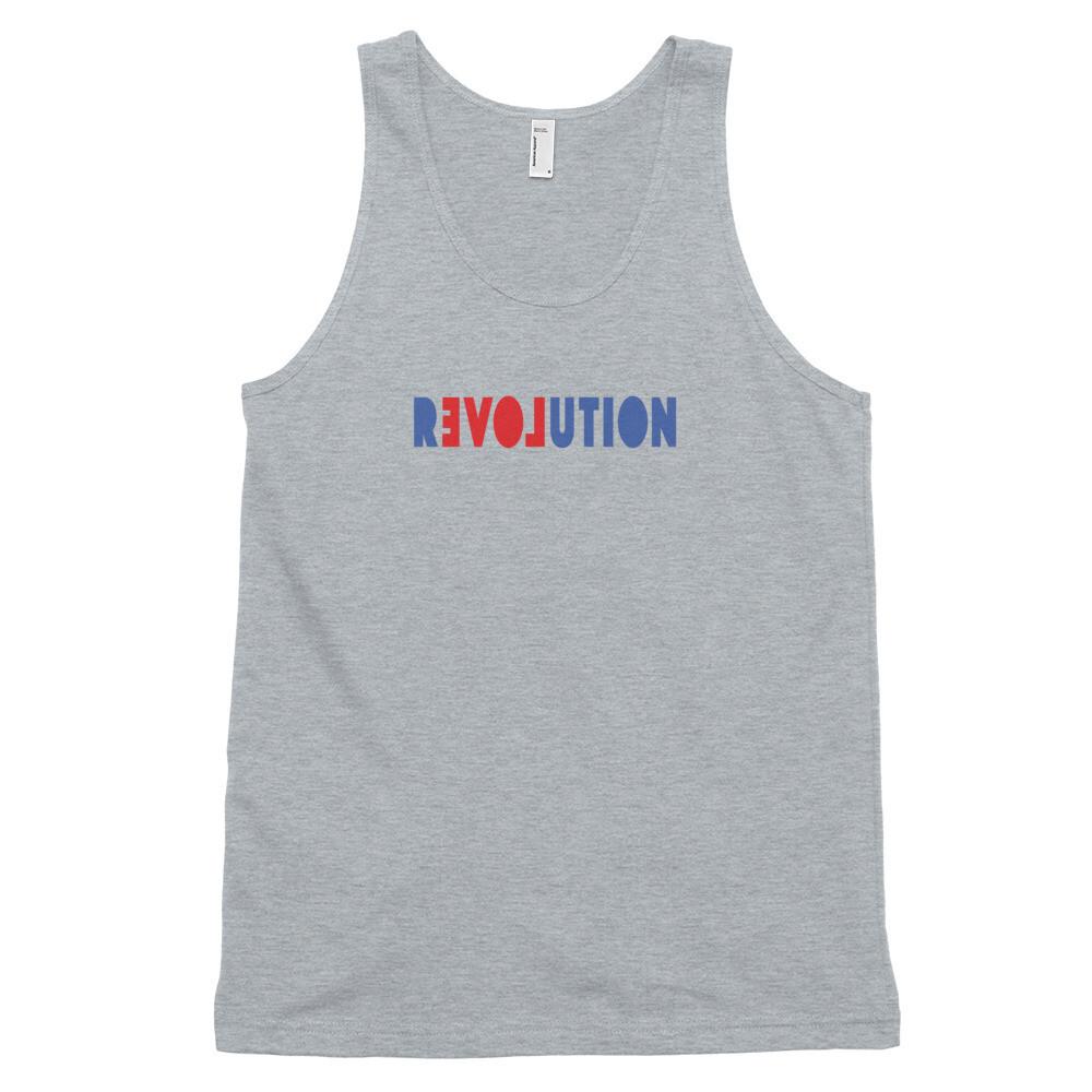 REVOLUTION LOVE Classic tank top (unisex)