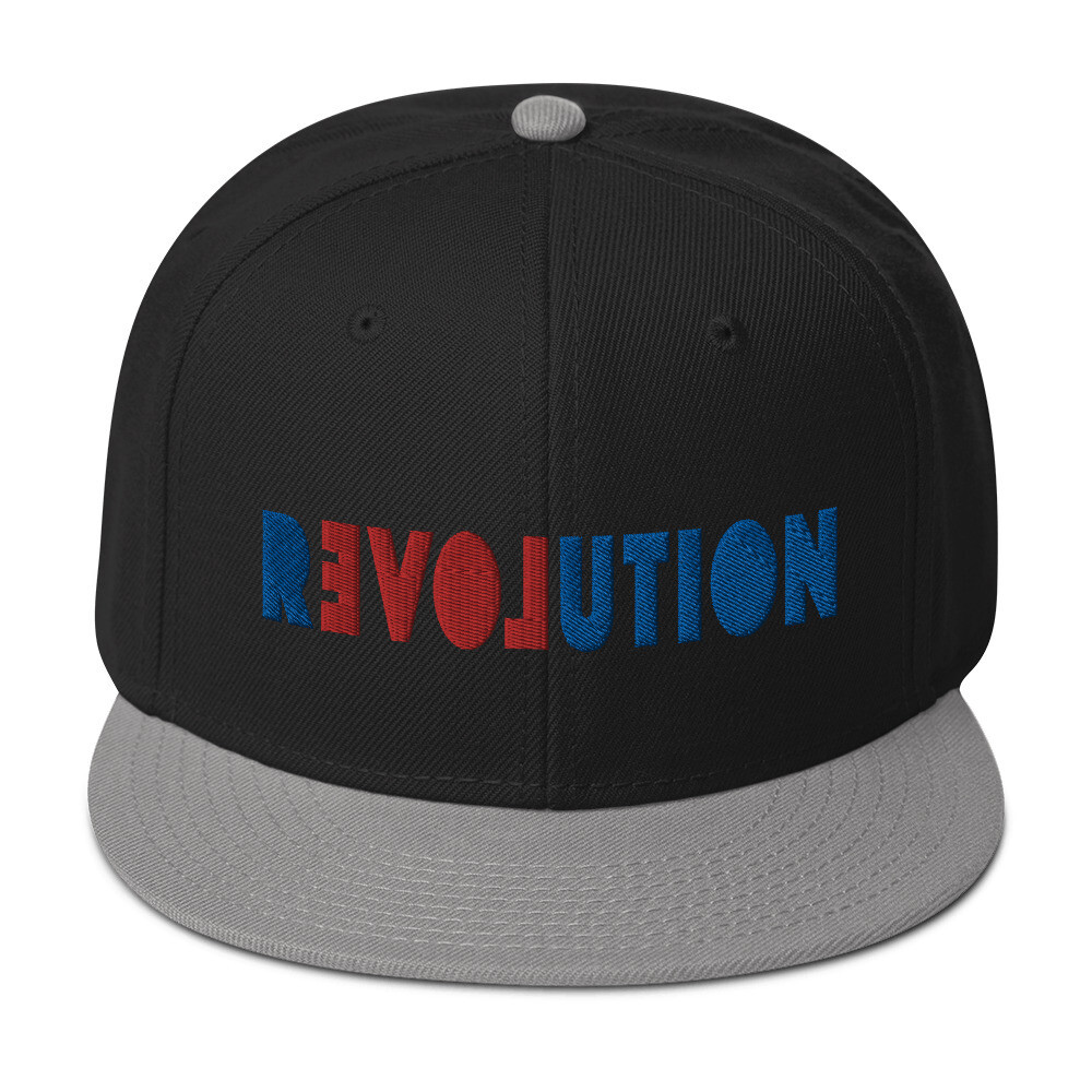 REVOLUTION LOVE Snapback Hat