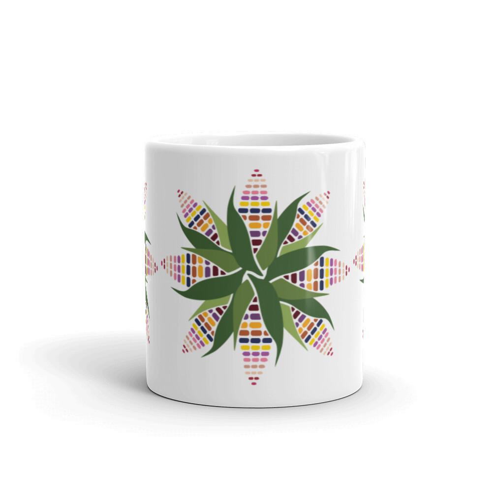 Sacred Corn Circle mug desing