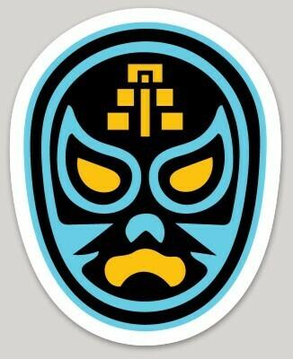Lucha Libre Maya sticker