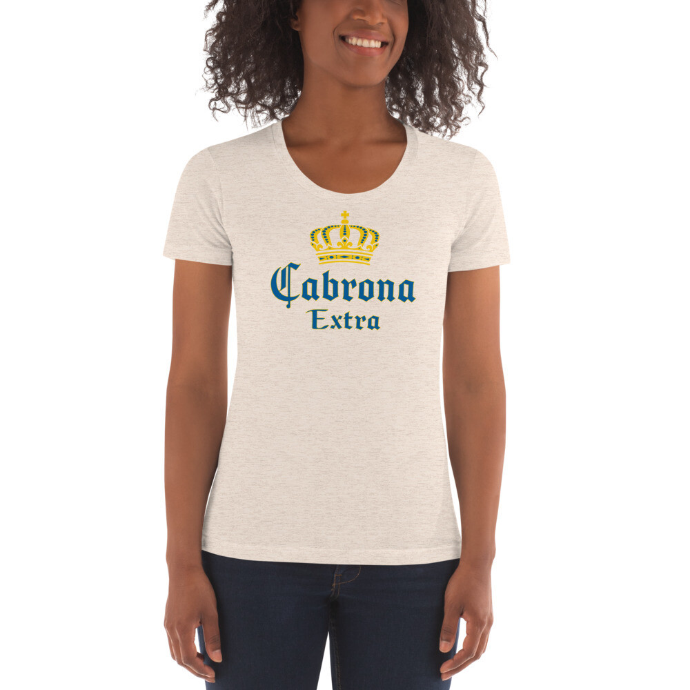 Cabrona Extra, Women's Crew Neck T-shirt