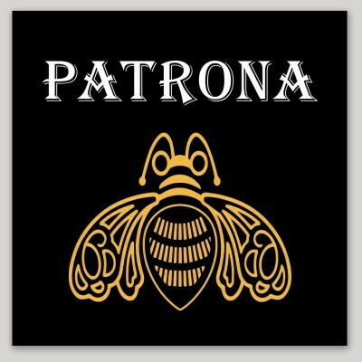 Patrona, female boss, abeja reina, La Jefa, La Mera Mera, Chingona, tequila design, laptop, iPhone cell phone Decal, water bottle sticker