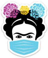 Frida with Mask MAGNET design.
