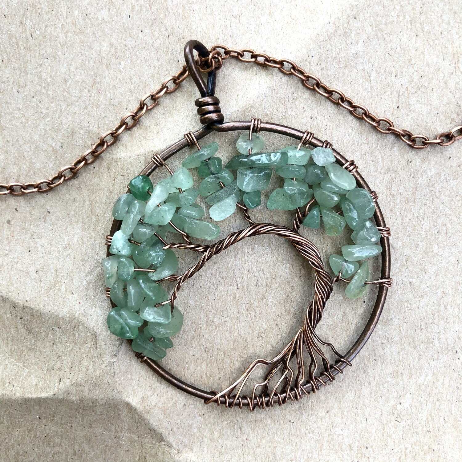 Tree of Life Wire Wrapped Necklace