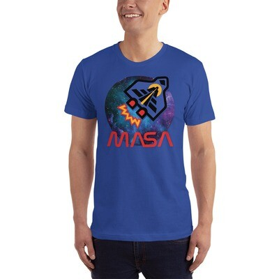 Space Shuttle American Apparel made in the US T-Shirt