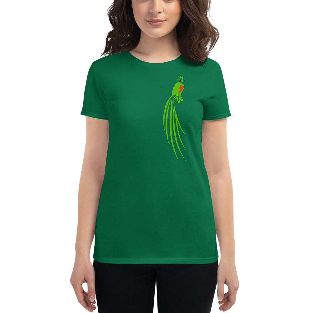Quetzal Women's short sleeve t-shirt