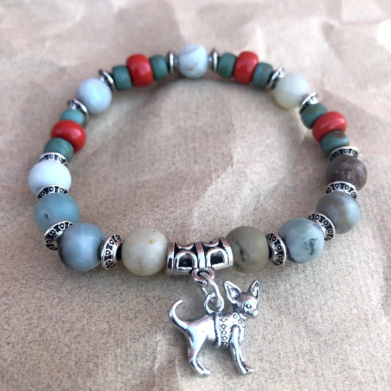 Sacred Chihuahua Charm Bracelet