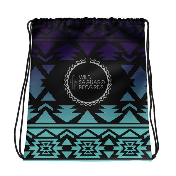 Drawstring bag (Purple)