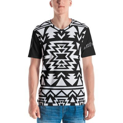 Premium Men's T-shirt (Black & White)