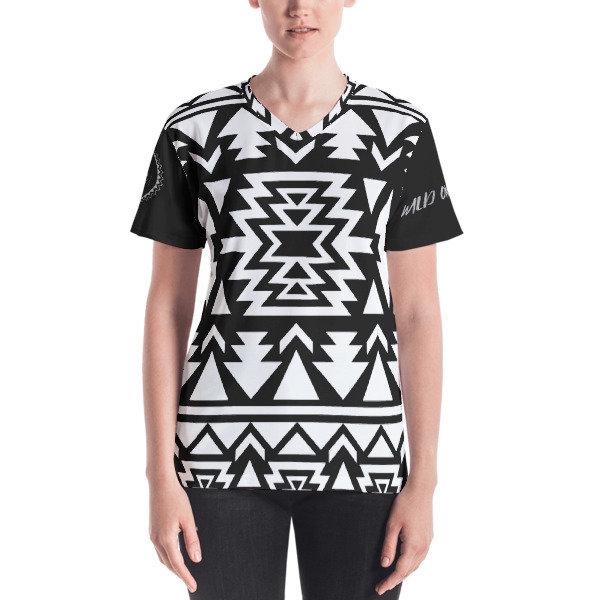 Premium Women's T-shirt (Black & White)