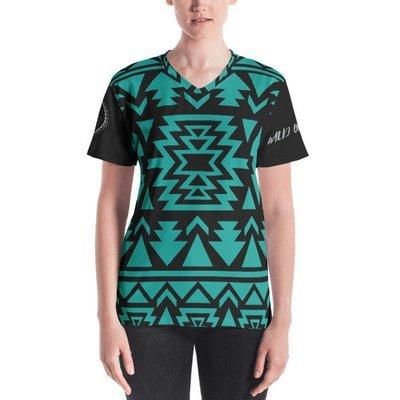Premium Women's T-shirt (Turquoise)