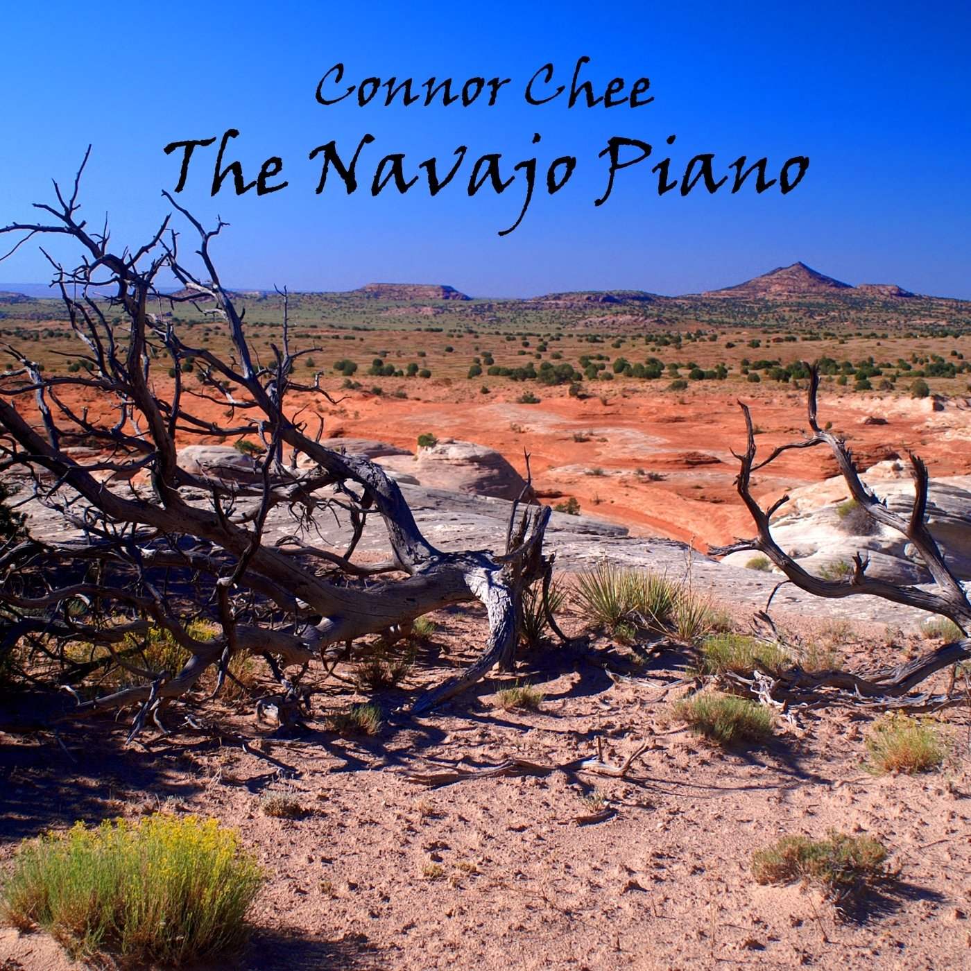 Connor Chee - THE NAVAJO PIANO (Physical CD)