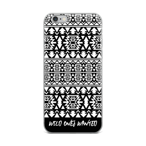 iPhone Case (Black and White)