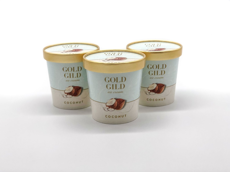 Coconut Ice Cream (473ml)