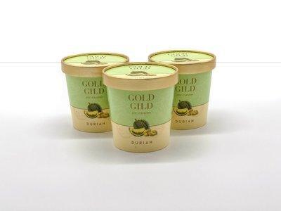 Durian Ice Cream (473ml)