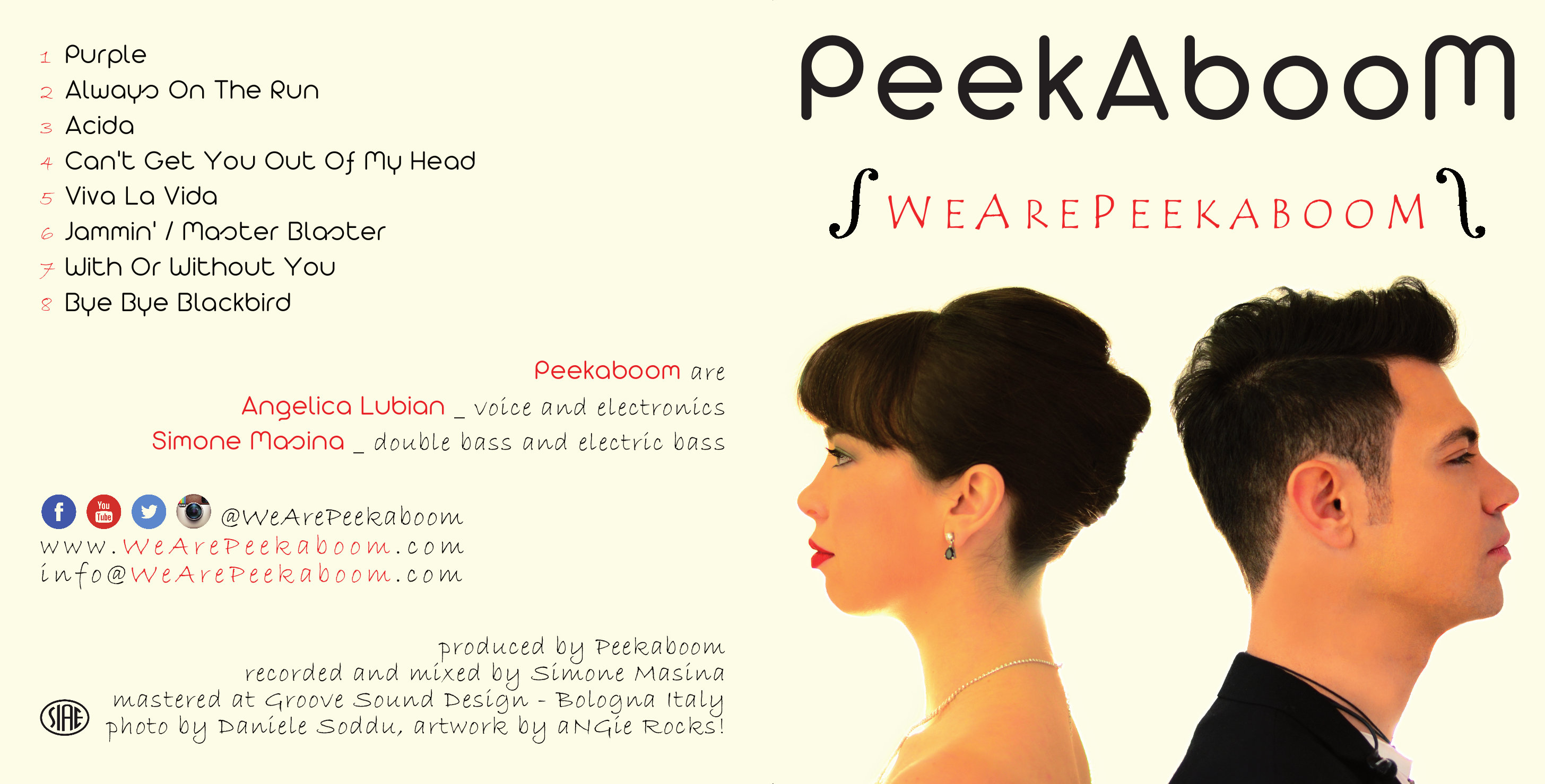 We Are Peekaboom - Digital Download MP3 + PDF