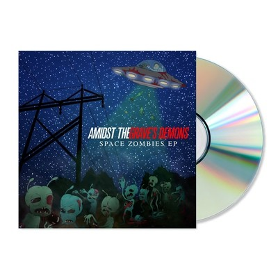 ATGD - Space Zombies (2016) CD w/ Sleeve