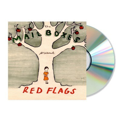 The Mailboxes - Red Flags (2013) CD w/ Sleeve