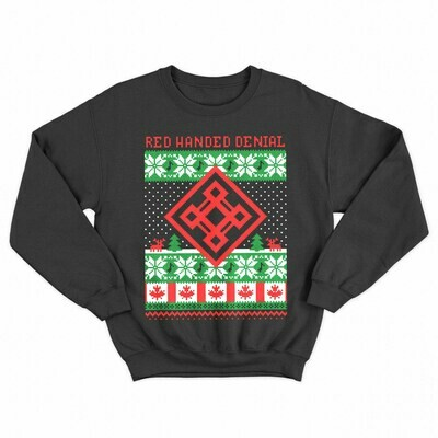Red Handed Denial - Christmas Sweater